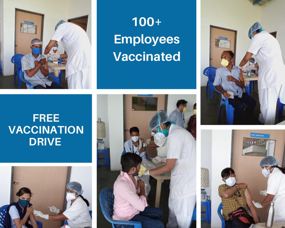 Nandu COVID-19 vaccination drive part 2