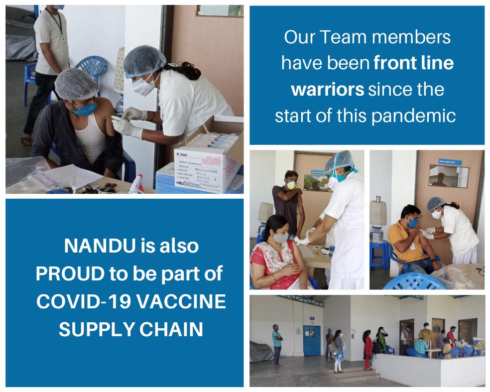 Nandu COVID-19 vaccination drive part 3